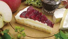 リンゴとプリンのタルト〜カマンベールチーズ風味〜