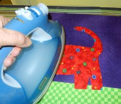Fusible Applique -- very detailed tutorial