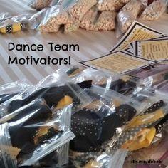Dance Team Motivators- It's me, debcb!