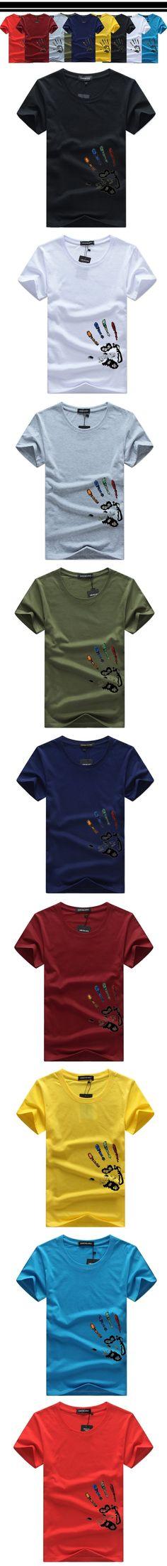 Mens Short Sleeve Cotton Contrast Collar Hoops Ringer Tee T-Shirt Tshirt No Logo