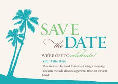 Tropical+Save+the+Date+designed+by+RUCHI+on+Pingg.com