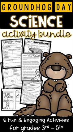 Groundhog Day Science Activity Bundle.