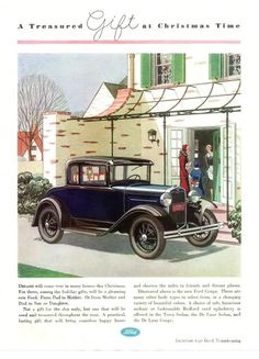 Vintage Ford Christmas Ads - THE H.A.M.B.