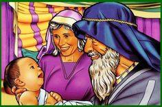 Isaac is a beautiful picture of sonship, what it means to be a child of God. If ever a boy was spoiled and pampered by his father, it was Isaac. Bible Pictures, Class Pictures, Crafts With Pictures, Bible Story Crafts, Bible Stories, Stories For Kids, Bible Lessons For Kids, Bible For Kids, Abraham Biblia