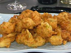 Zucchini and Shrimp Fritters Recipe : Emeril Lagasse : Recipes : Food Network