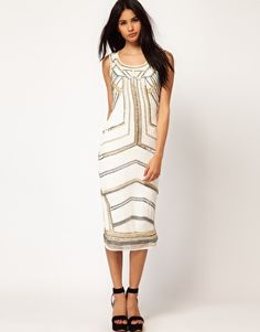 Enlarge ASOS Body-Conscious Dress with Embellished