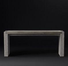 Concrete Pier Console Table