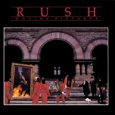 Moving Pictures is the eighth studio album by Canadian rock band Rush. Moving Pictures became the band's biggest selling album in the US rising to on the Bil Rock Album Covers, Classic Album Covers, Neil Peart, Heavy Metal, Playlists, Lps, Rock N Roll, Rush Albums, Classic Rock Albums