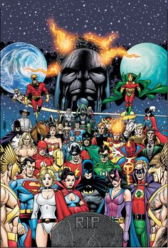 JLA/ JSA/ New Gods and others by George Perez