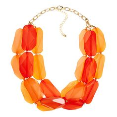50 Under $50: Summer Style Special.  A rock-candy confection of a necklace. Yum-o. Necklace, $19.75; mimiboutique.com.