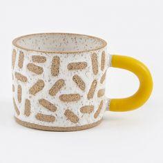 Rubber-Dipped Raw Mark Mug