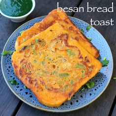 besan bread toast **Use GF Bread Pakora Recipes, Chaat Recipe, Paratha Recipes, Indian Dosa Recipe, Paneer Recipes, Easy Egg Recipes, Spicy Recipes, Cooking Recipes, Bread Recipes