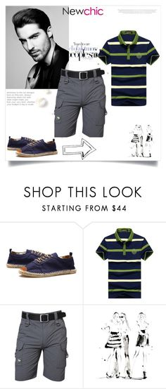 """""""NEWCHIC"""" by newoutfit ❤ liked on Polyvore featuring Yoco Nagamiya, men's fashion and menswear"""
