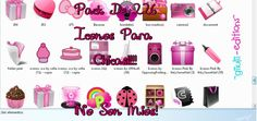 Pack de iconos DE CHICAS!! by GiiuliiSmiler.deviantart.com on @DeviantArt