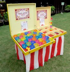 Best Picture For DIY Carnival rides For Your Taste You are looking for something, and it is going to Carnival Party Games, Carnival Games For Kids, Fall Carnival, Carnival Booths, Slumber Party Games, Carnival Birthday Parties, Circus Birthday, Birthday Party Games, Party Themes