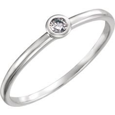 Diamond Stackable Ring, click to be directed for purchase!