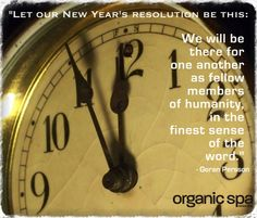 Organic Spa Magazine wishes you a safe and happy NEW YEAR <3