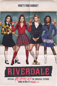 Original Television Soundtrack (OST) from the CW series Riverdale: Special Episode - Heathers the Musical The music by Various Artists (Riverdale Cast). Riverdale: Heathers the Musical Soundtrack by Various Artists (Riverdale Cast) Riverdale Funny, Riverdale Memes, Riverdale Cast, Riverdale Tv Show, Riverdale Netflix, Riverdale Archie, Archie Comics, Heathers El Musical, The Heathers