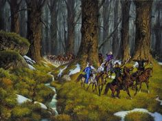 Crossroads of Twilight cover by Darrell K Sweet. Click to enlarge