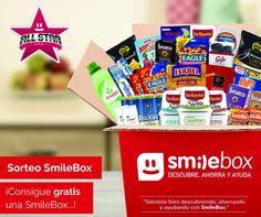 ¡SORTEO SmileBox ALL STAR: una caja sorpresa con 8 novedades de 1as  marcas!
