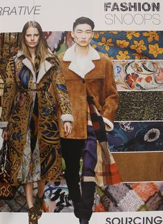 Northern Narrative fashion trend forecast for fall 2015/winter2016 as seen on Fashion Trend Guide
