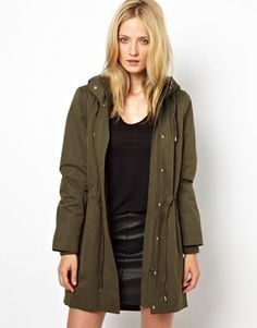 Narah Parka with Removeable Lining