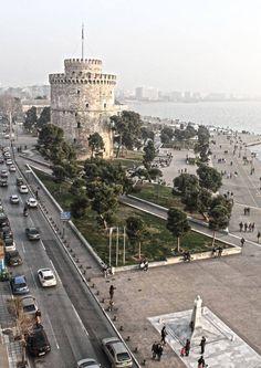 Thessaloniki, Greece dedelerin ana vatani İzmir benzeri görülmesi gereken yer