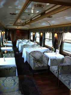 Majestic Imperator Luxury Train - Salon