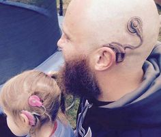 Father Gets Tattoo to Match Daughter's Cochlear Implant