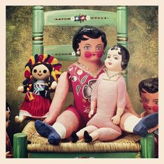 Typical Mexican dolls