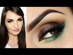 ▶ *GARDEN OF EDEN - Makijaż w brązie i odcieniach zieleni* - YouTube
