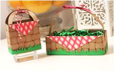 Damask Love: Clear and Simple Stamps Style Watch: Easter Baskets with Style