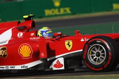 Australian GP 2013 - Melbourne - Practice Session - Felipe Massa with OZ Racing wheels #OZRACING