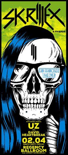 Skrillex Poster 2014