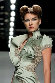 Some super hot stuff coming out of Lebanon: Abed Mahfouz Fall-Winter 2011