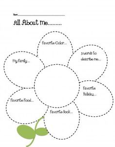 All About Me Craft for Classroom Activity