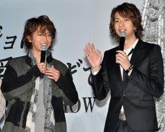 明けましておめでとう!健さんと健友さん! の画像|ゆかりのブログ(佐藤健応援隊)