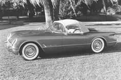 1955 Chevrolet Corvette V8: America's sports car didn't hit its stride until its third year and the introduction of the small-block V8. Great things were still to come.