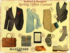 Spring Office Casual 1