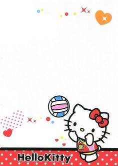 Hk Sanrio Characters, Fictional Characters, Hello Kitty Pictures, Hello Kitty Wallpaper, Sanrio Hello Kitty, Little Twin Stars, My Melody, Writing Paper, Printable Paper