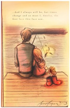 "The Times We Had [Storybook] by The-Longfall-of-1979 on DeviantArt -- ksc ""Amy, you'll dream about that box. It'll never leave you. Big and little at the same time, brand-new and ancient, and the bluest blue, ever. And the times we had, eh? Would've had. Never had. In your dreams, they'll still be there. The Doctor and Amy Pond... and the days that never came."" ♥♥"