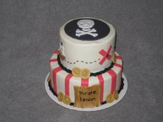 Pirate themed cake