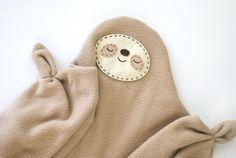 Sleepy Sloth Snuggler Sewing Pattern