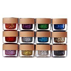 12 x Mix Colors Glitter UV Builder Gel Nail Art 8ml – CAD $ 22.37