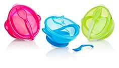 Nuby Suction Bowl with Spoon and Lid, Colors May Vary Nuby http://www.amazon.com/dp/B004SLDGTE/ref=cm_sw_r_pi_dp_zxQhvb0YF3RTJ