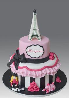 Paris Themed Birthday Cake Decorations With Buttercream Paris - Birthday cake paris