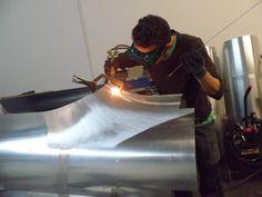 . Ferrari F1, Custom Metal Fabrication, Metal Shaping, Metal Forming, Metal Working Tools, Old Race Cars, Kit Cars, Sheet Metal, Custom Cars