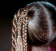 cool trio of braids