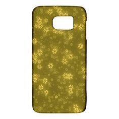 Snow Stars Golden Galaxy S6