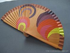 Hand Held Fan, Hand Fans, Hot Flash Remedies, Painted Fan, Chinese Fans, Fan Decoration, Hot Flashes, Hanfu, Vintage Accessories